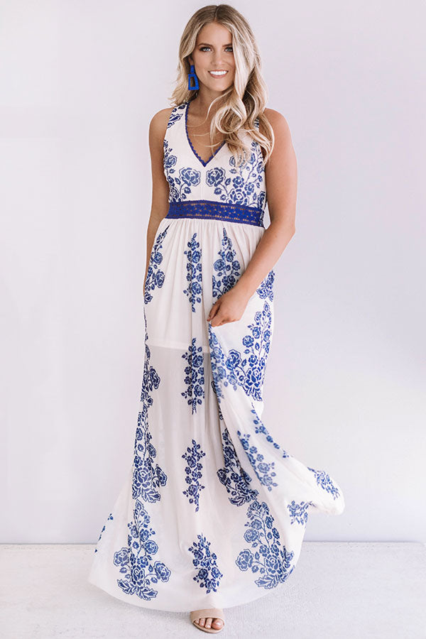Dreamy Celebration Crochet Maxi