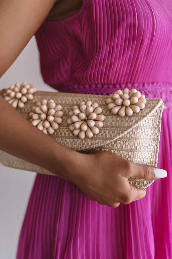 Cabo Cruise Clutch In Tan