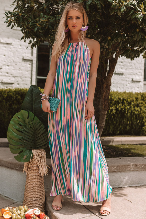 Dreamy Days Stripe Maxi
