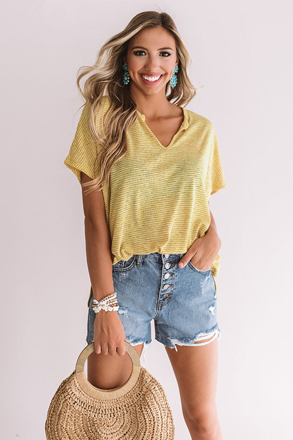10dfd4a9d09beb Ray Of Sunshine Shift Top