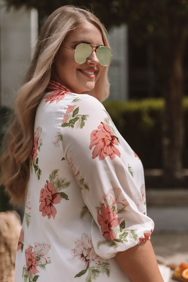 Floral Paradise Tunic Dress