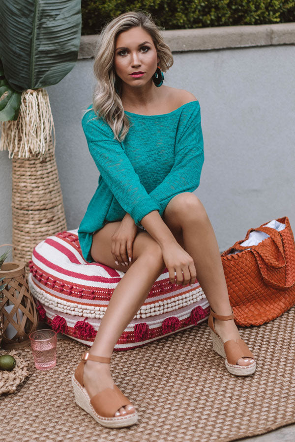 Summer Nights Knit Sweater