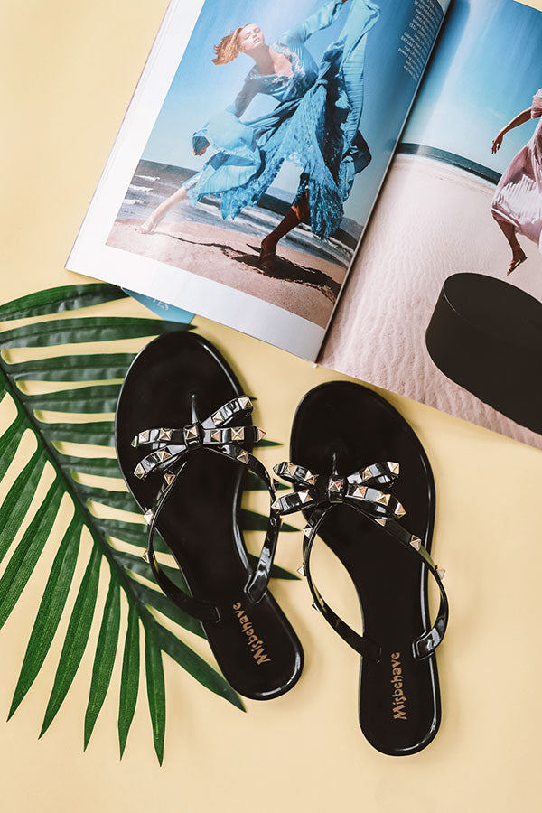 Online Impressions Sandal Jelly Black • Boutique The Cecily In 3LqA5cRj4