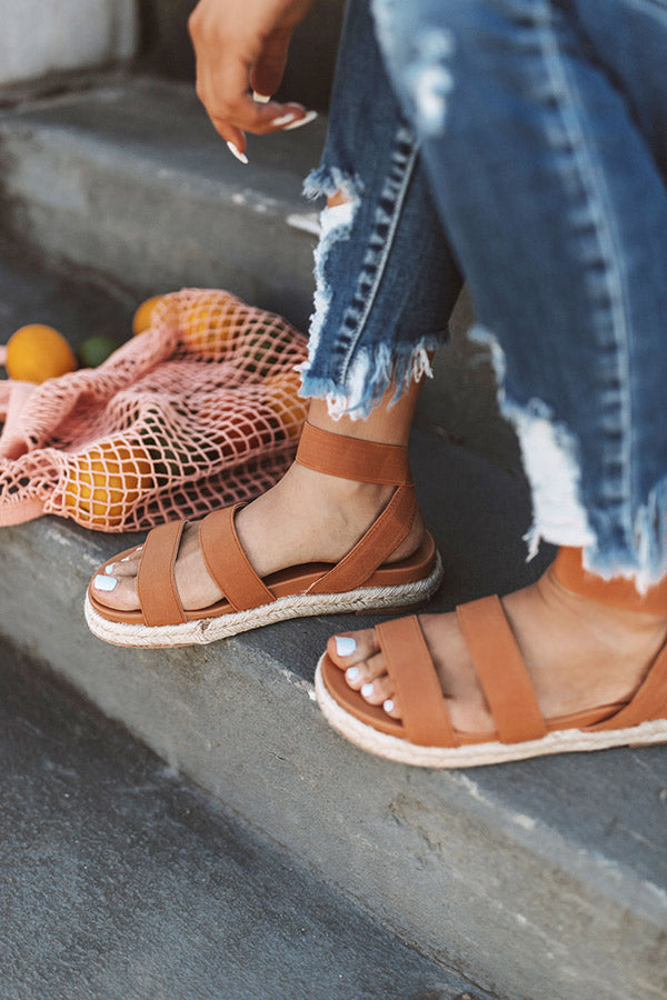 The Sundry Sandal In Camel