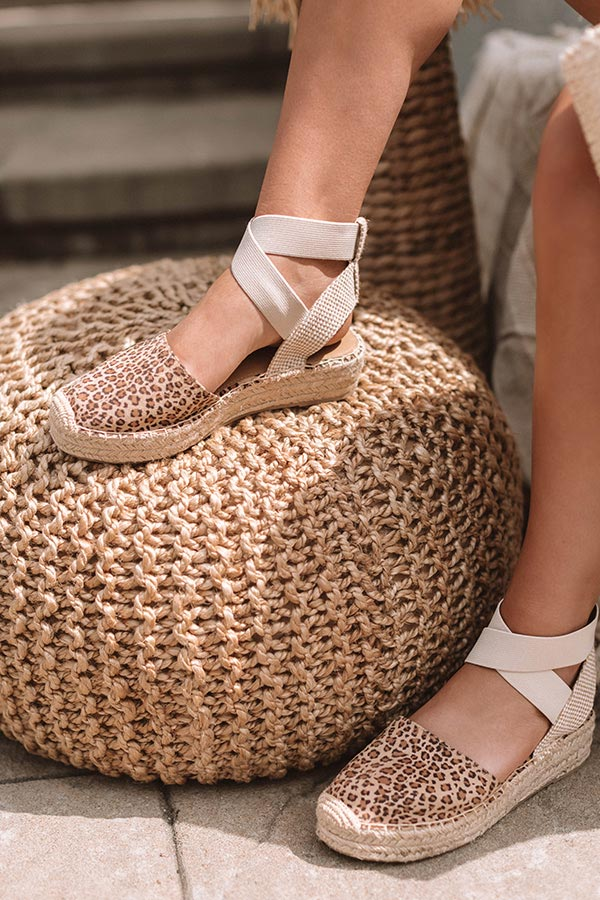 The Maya Leopard Espadrille