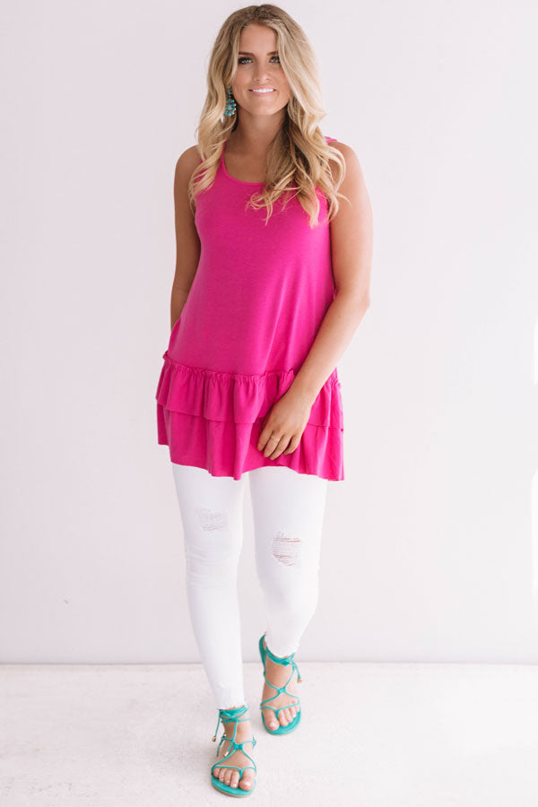 d50030ab49e4a Simply Amazing Tunic Tank in Hot Pink