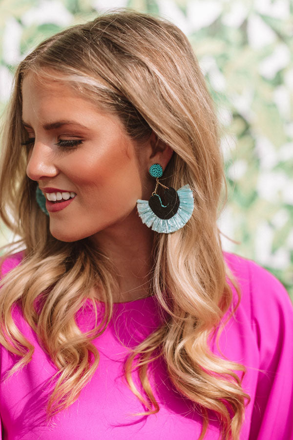Endless Celebration Earrings In Turquoise