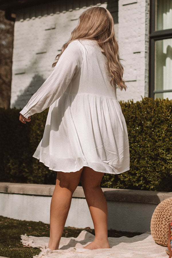 Boho In Brooklyn Embroidered Dress