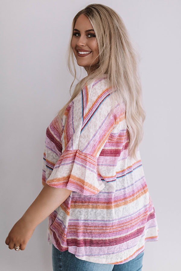 San Diego Sun Stripe Top