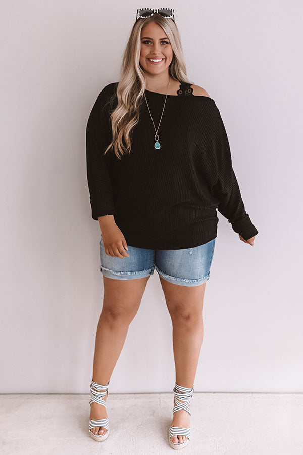 b8450e9d4f368 Sippin  In Central Park Off Shoulder Top In Black