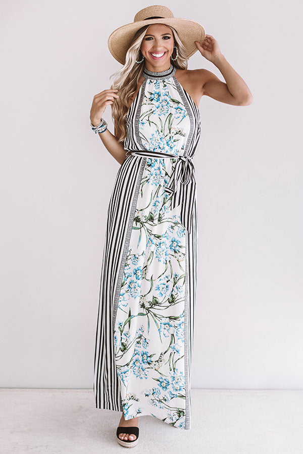 Forever in Florence Floral Maxi