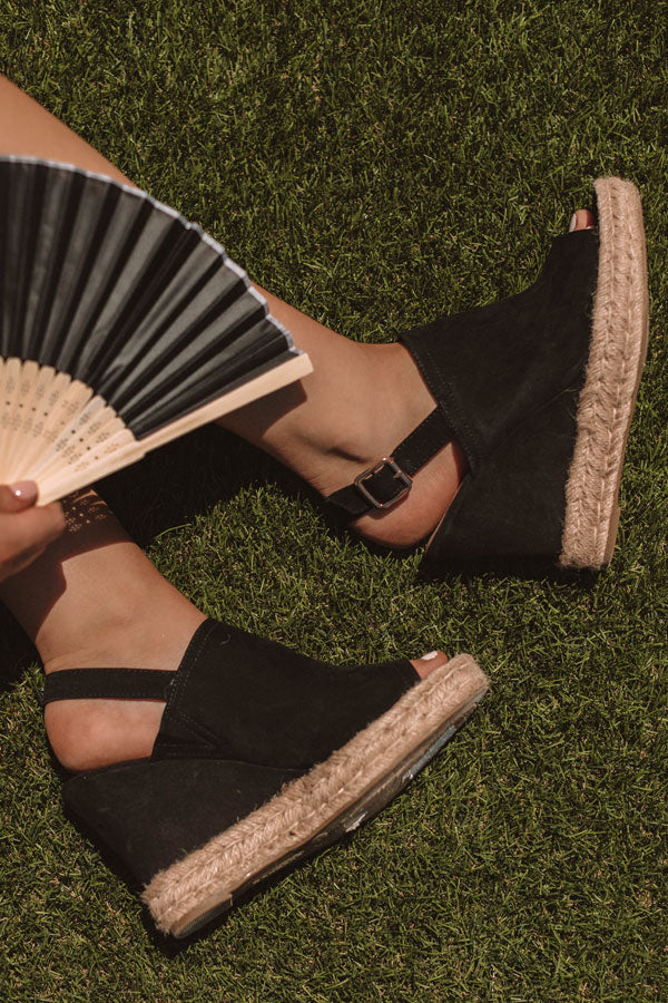The Mason Wedge In Black