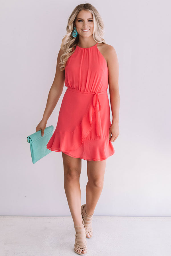 Celebrate With Champagne Dress In Calypso
