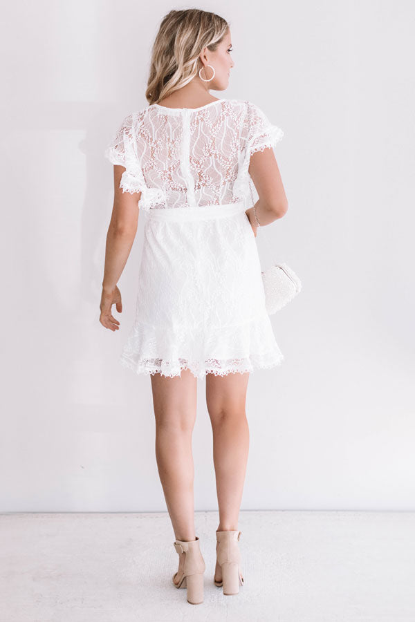 Follow Your Heart Lace Dress
