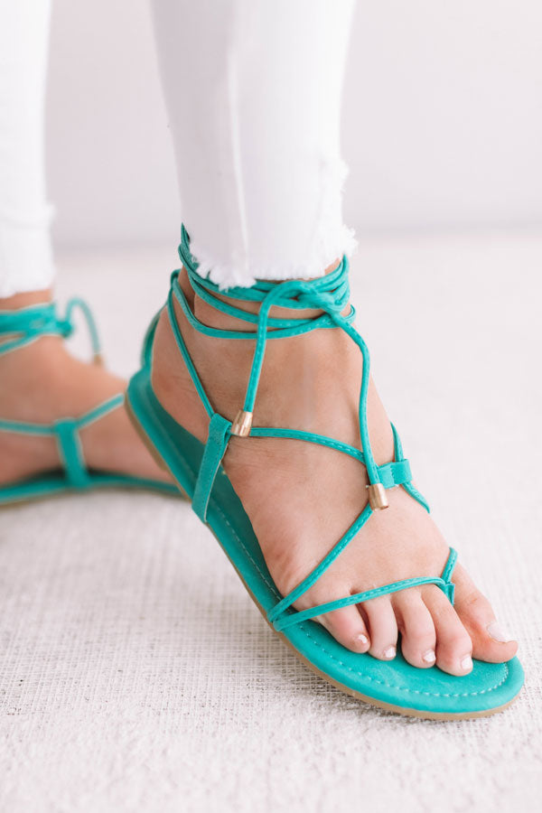 The Jewell Lace Up Sandal