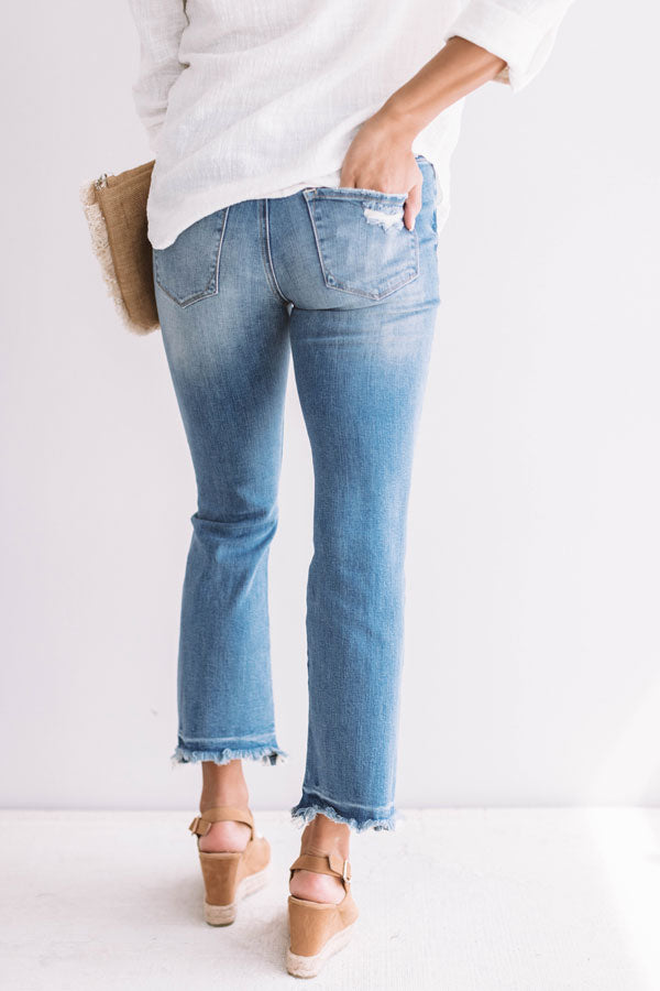 The Adler Midrise Relaxed Ankle Skinny