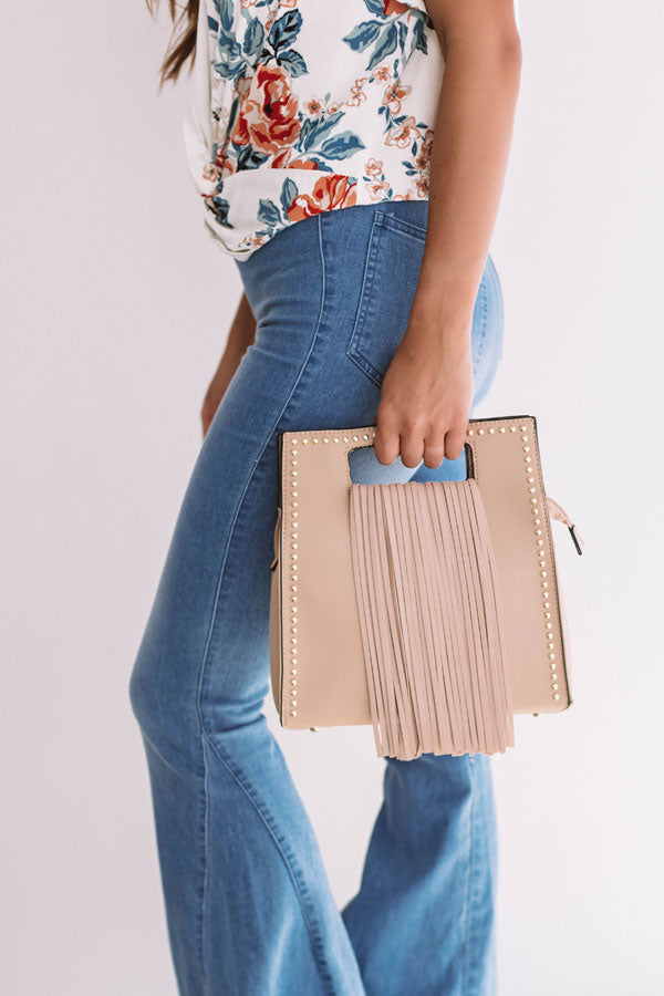 West Coast Road Trip Crossbody in Iced Latte