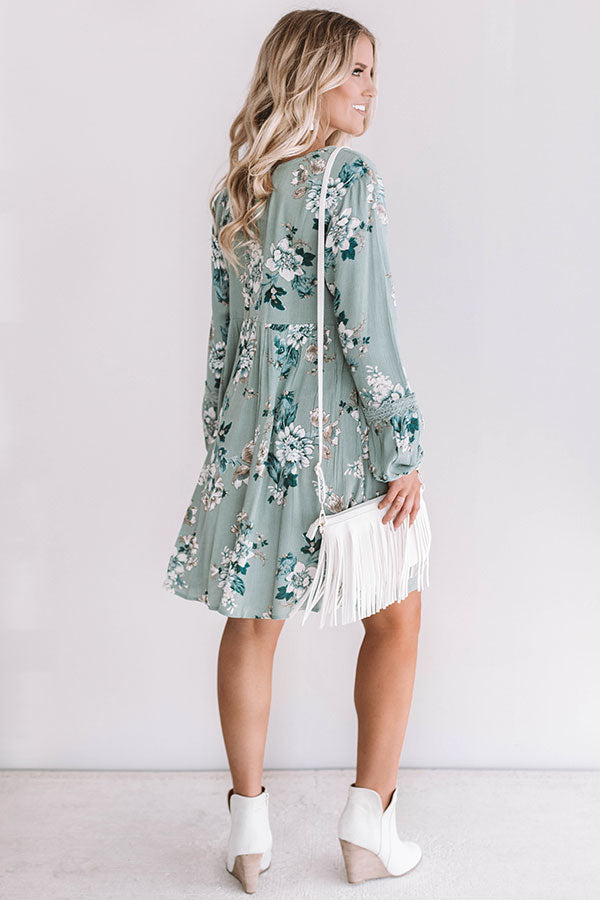 Pretty in Petals Babydoll Dress