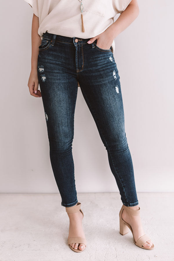 The Georgia Midrise Ankle Skinny