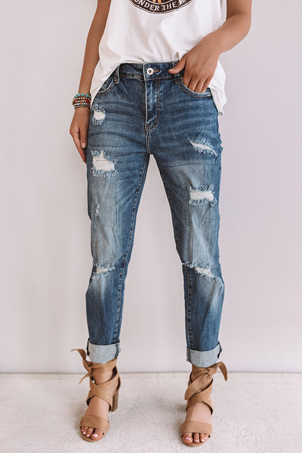 The Ramone High Waist Relaxed Skinny