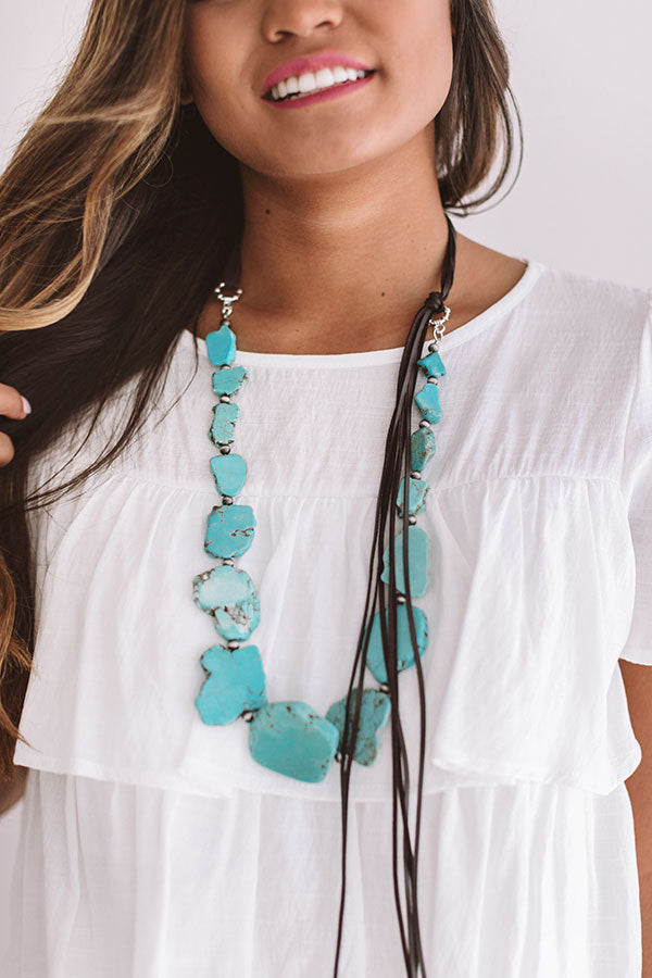 Malibu Mood Turquoise Necklace