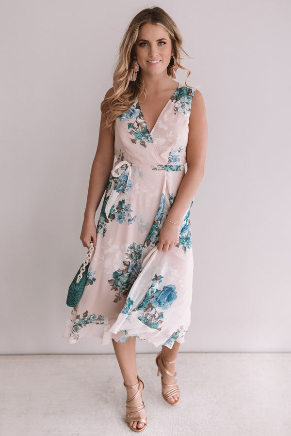 Amalfi Kisses Floral Dress