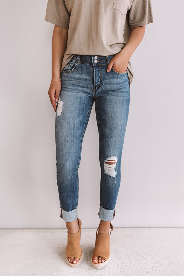 The Presley Midrise Relaxed Skinny