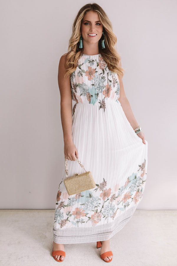 Bless Your Heart Floral Maxi