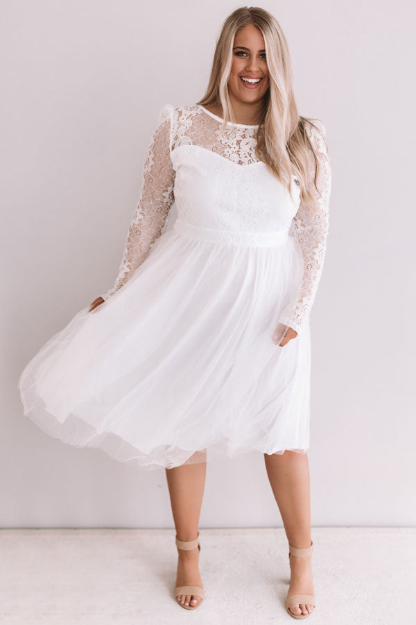 First Dance Lace Dress