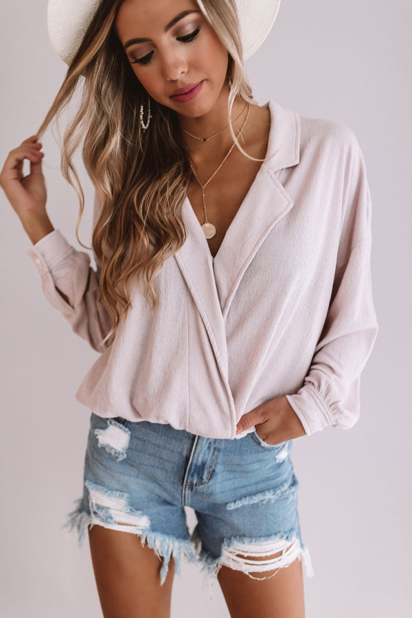 Runaway With Me Top In Dusty Purple