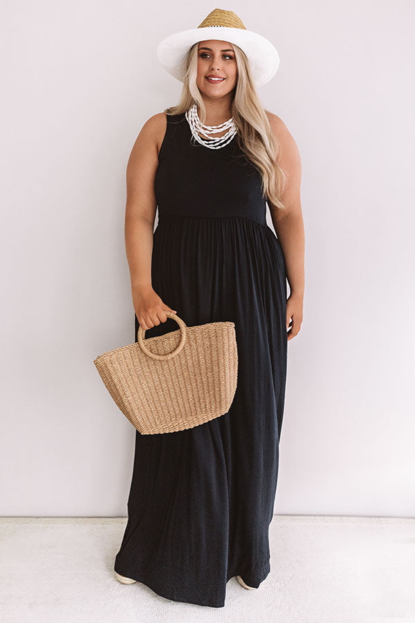 Summer Love Maxi In Navy
