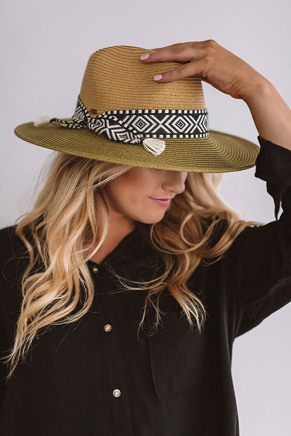 Chic In Miami Hat In Sage