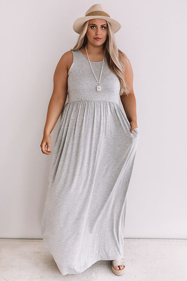 Summer Love Maxi In Grey