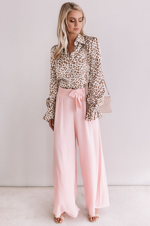Girlfriend Getaway Leopard Top