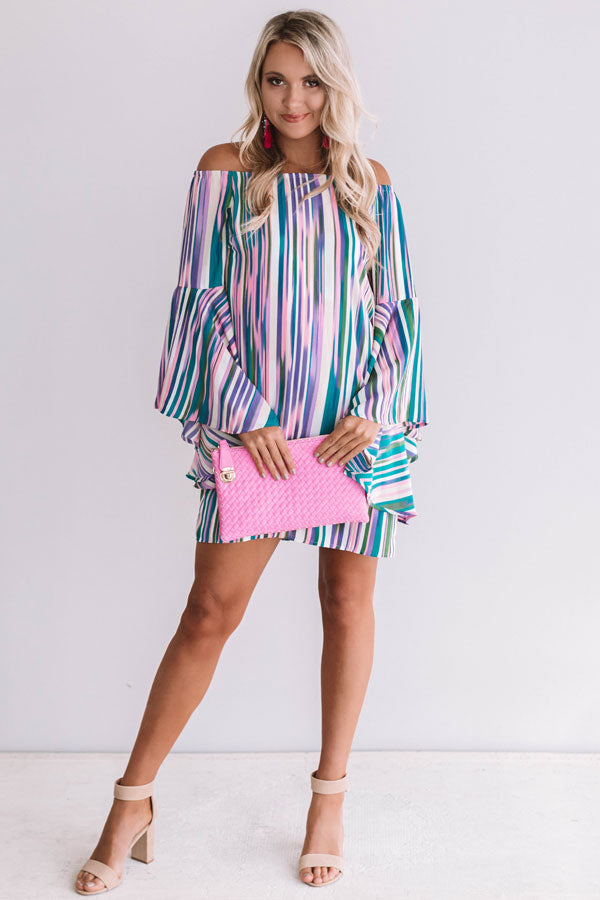 Havana Cabana Stripe Dress