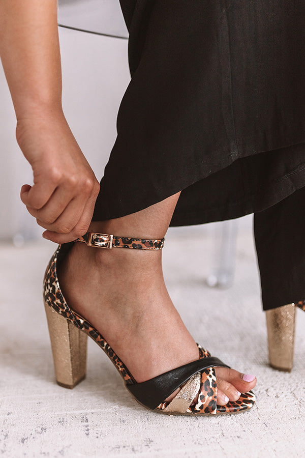 The Mayleigh Leopard Heel
