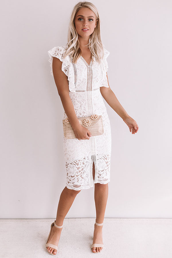Rings and Things Lace Midi