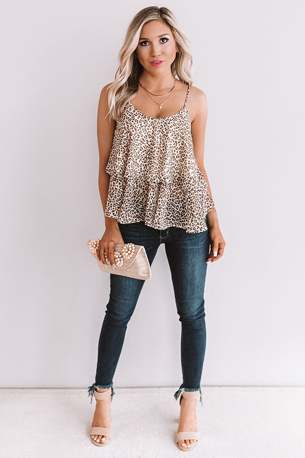 Born With It Leopard Top