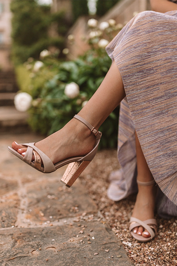 The Mayleigh Heel in Dusty Purple