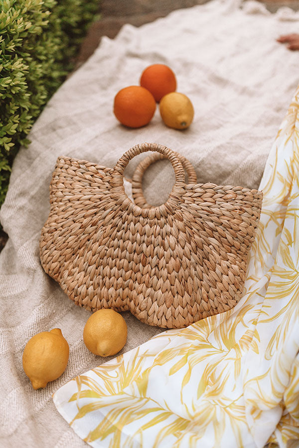Ready For Fiji Woven Tote