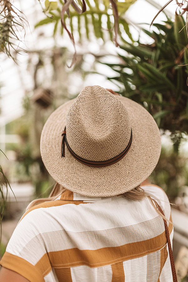 Time For A Vacay Hat in Ivory