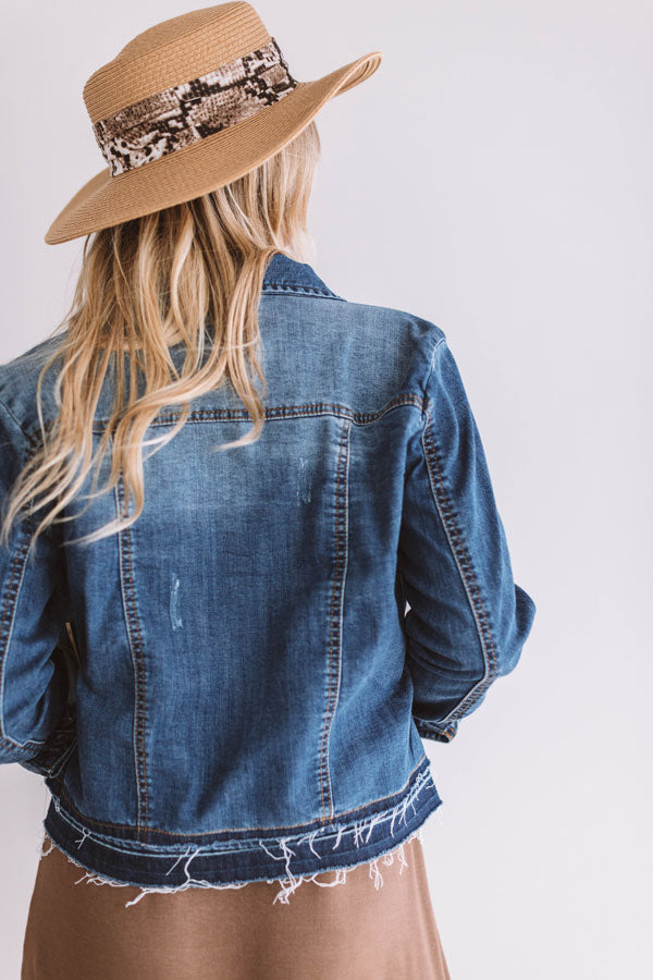 The Jacey Denim Jacket