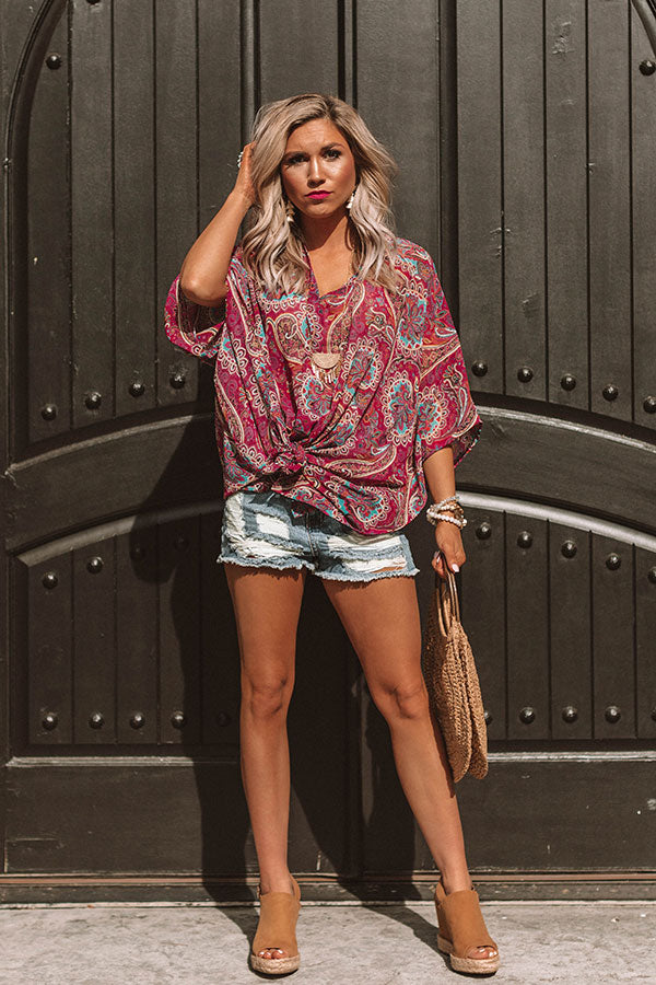 Call The Haute-Line Paisley Tunic