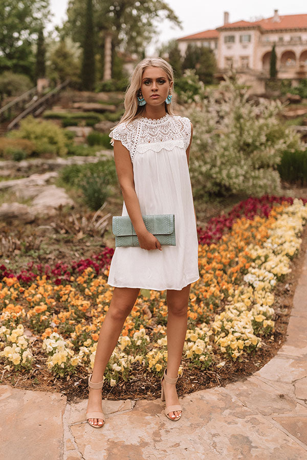 Moment By Moment Crochet Dress