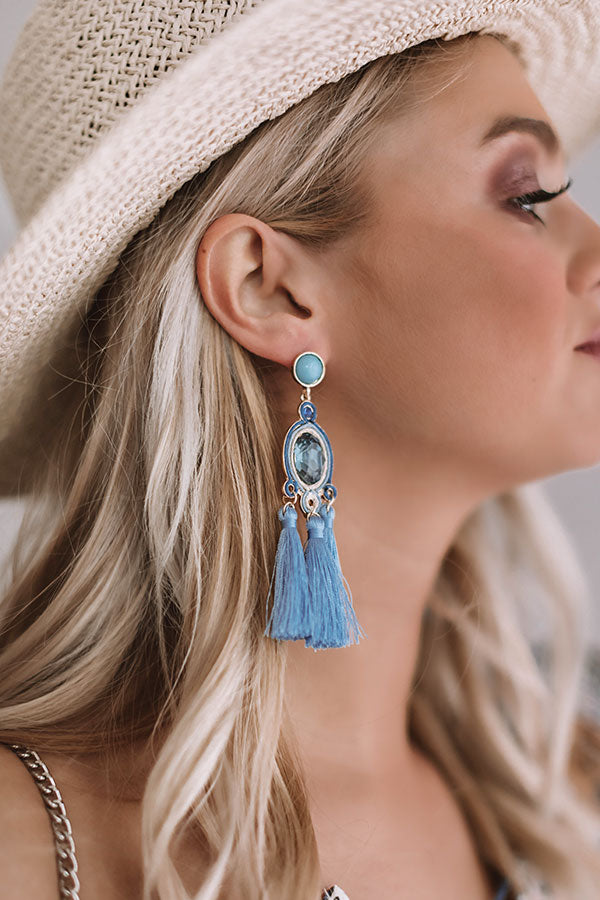 Two for the Show Tassel Earrings