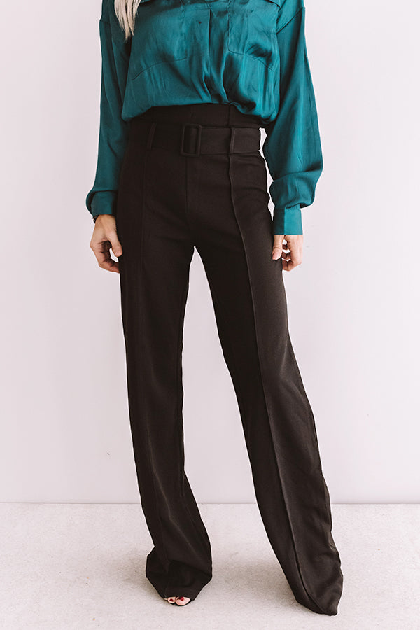 Grecian Getaway Trousers In Black
