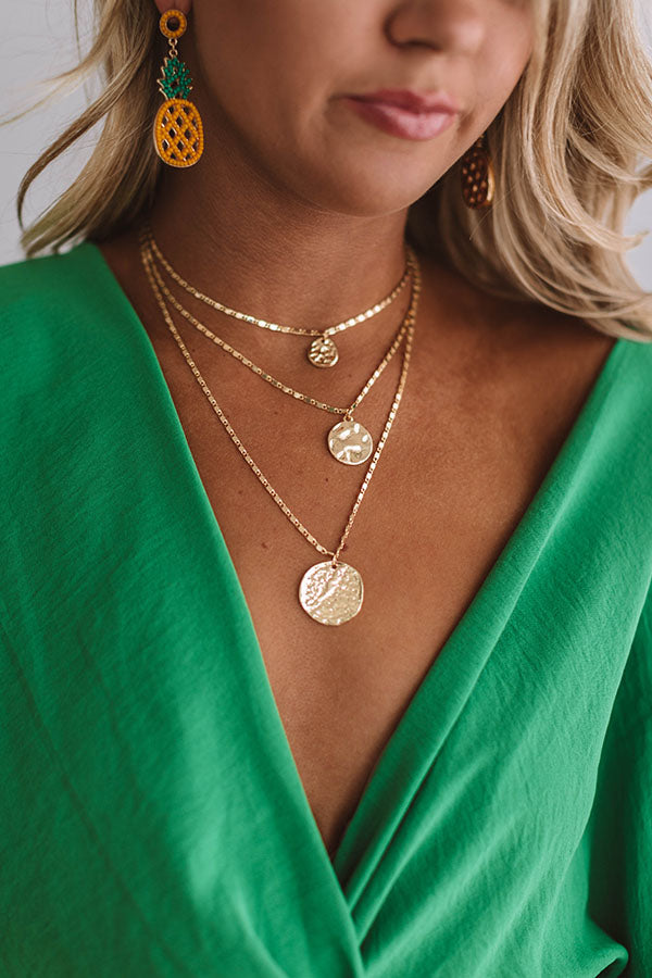 Golden Years Layered Necklace
