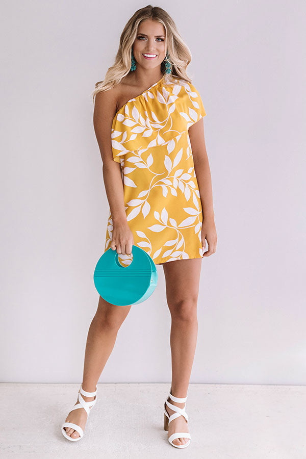 Sunny Days In San Fran Shift Dress