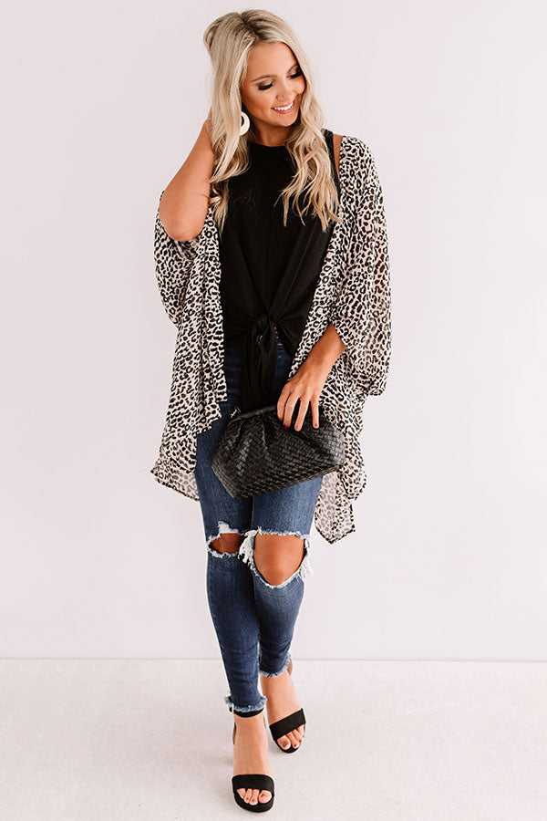 Party Of One Leopard Overlay