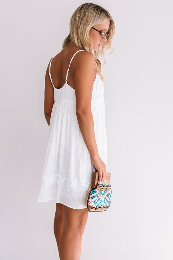 Destination Relaxation Crochet Dress